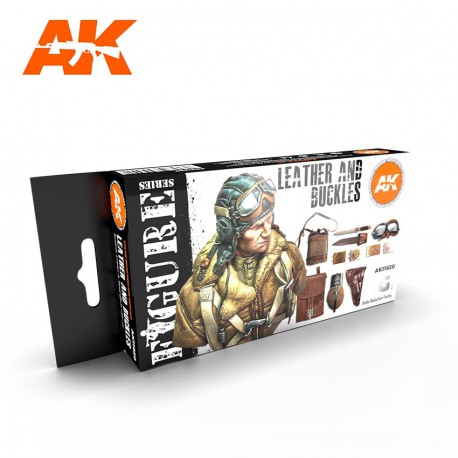 PEINTURE AK - Leather And Buckles 3G