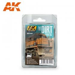 PEINTURE AK-BASIC-DIRT-EFFECT-AK 7020
