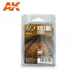 PEINTURE AK- ROLLING-STOCK- AK 7023