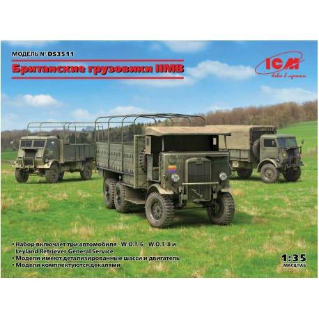 CAMIONS-BRITANNIQUE-2E-G.M-JAPICMDS3511-ECH1/35