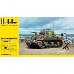 HELLER -79892 - M4-SHERMAN-D-DAY- -ECH1/72