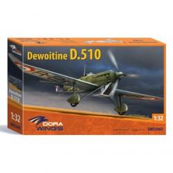 DEWOITINE-D.510-SQUADRONS-ETAMPES-FRANCE-JAPDW32003-1/32