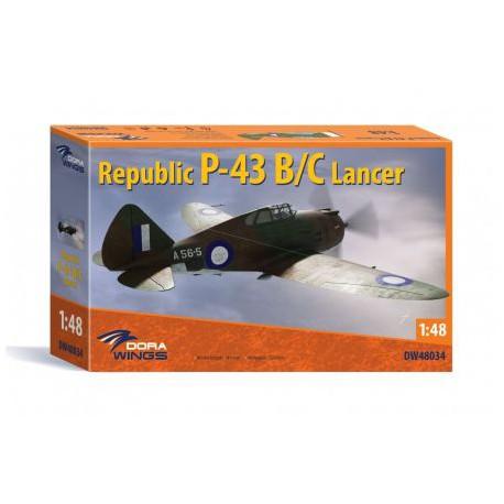 REPUBLIC-P-43B-C-LANCER-JAPDW48034-ECH1/48