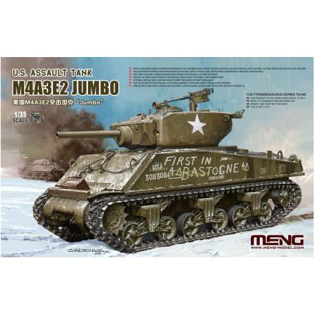 U.S.-ASSAULT-TANK-M4A3E2-JUMBO-JAPDRA045-ECH1/35