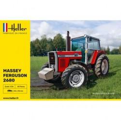 HELLER - 81402 - TRACTEUR MASSEY FERGUSSON 2680 - Echelle 1/24