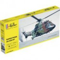 MAQUETTE HELICOPTERE - PUMA AS332 M1 - ECH 1/72 - HELLER - ARMEE FRANCAISE MARINE TERRE