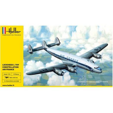 HELLER-L-749-CONSTELLATION-AIR-FRANCE-HELL80310-ECH1/72
