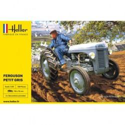 HELLER - 81401 - TRACTEUR FERGUSSON TE 20 - PETIT GRIS - Echelle 1/24