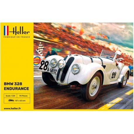 HELLER-BMW-328-ENDURANCE-HELL80782-ECH1/24