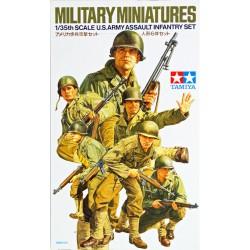 TAMIYA - MILITARY MINIATURES (U.S.ARMY ASSAULT INFANTRY SET) - TAM35192 - Echelle 1/35