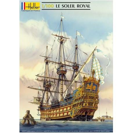 MAQUETTE HELLER - Soleil Royal 1/100 - 80899