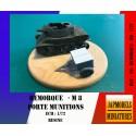 MAQUETTE JAPMODELS - REMORQUE M8 - PORTE MUNITIONS REF JAP US REMORQUE M8 - ECH 1/72