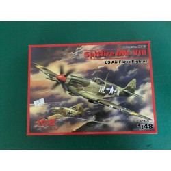 SPITFIRE MK VIII - US AIR FORCE - ICM - REF ICM 48065 - ECH 1/48