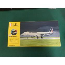 AIRBUS A 320 - HELLER - REF 56448 - ECH 1/125