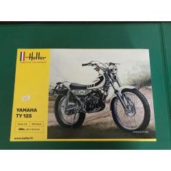 MAQUETTE HELLER - MOTO - YAMAHA TY 125- REF 52994 - ECH 1/8