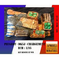 MAQUETTE JAPMODELS - CHARGEMENT PICK-UP DK5J - REF JAP ACC62 - ECH 1/35