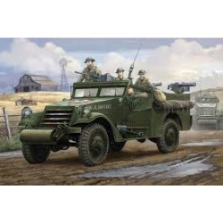 Maquette - HOBBY BOSS - US M3 A1 Scout Car early production - Echelle 1/35