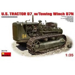 MAQUETTE MINI ART US TRACTOR D7 - 35174- ECH 1/35