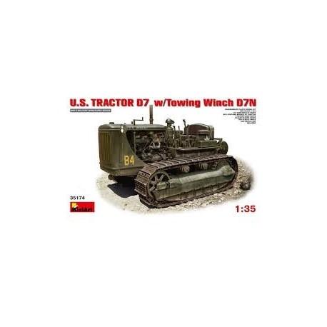 MAQUETTE MINI ART US TRACTOR D7 - 35174- ECH 1/35