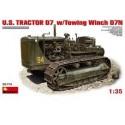 MINI ART-US-TRACTOR-D7 -MIART35174- ECH 1/35