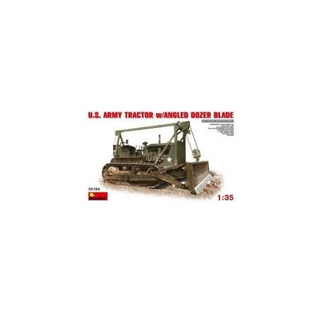 MAQUETTE MINI ART - US ARMY TRACTEUR D7 + BLADE 35184 - ECH 1/35