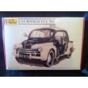 "Maquette - HELLER - Renault 4CV ""PIE"" - Echelle 1/24"