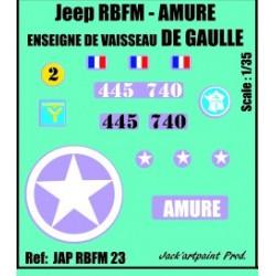 DECLALS 2 DB - LES CHEFS DE LA 2 DB -ECH 1/35
