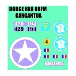 Dodge 6x6 Garantua