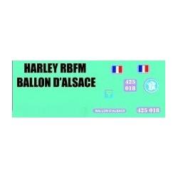 decals 1/72 Harley - Ballon d'alsace