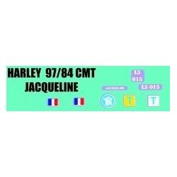 decals 1/72 Harley - Jacqueline