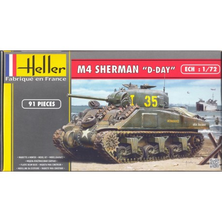 "SHERMAN M4 "" D-DAY """