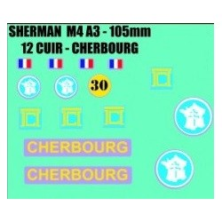 decals 1/72 SHERMAN - CHERBOURG