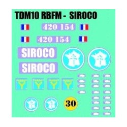 decals 1/72 TDM10 - SIROCO