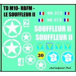 decals 1/72 TDM 10 LE SOUFFLEUR II