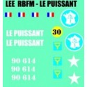 decals 1/72 LEE - LE PUISSANT