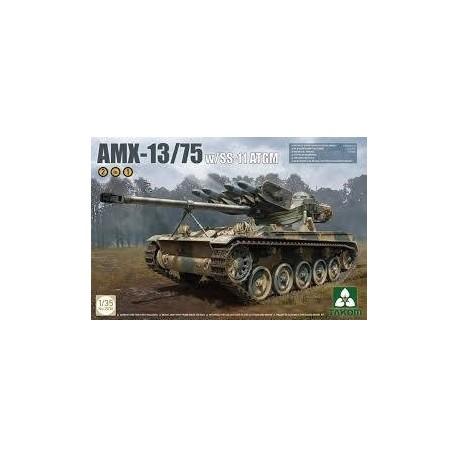 AMX 13 - 13/75 W/SS 11 ATGM ECHELLE 1/35