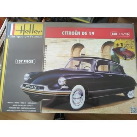 Coffret Citroen DS 19 + DS Cabriolet 1/16