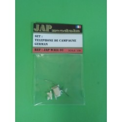 Wall - JapModels - TELEPHONE DE CAMPAGNE GERMAN 1/35