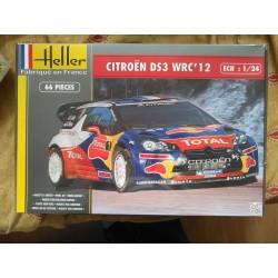 Maquette - HELLER - CITROEN DS3 WRC 12 - Echelle 1/24