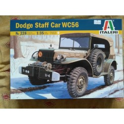 MAQUETTE ITALERI DODGE WC56 COMMAND CAR ECH 1/35