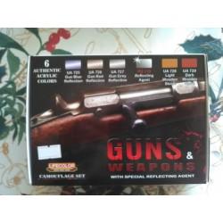 PEINTURE LIFECOLOR - GUNS ET WEAPONS- CS26 - MAQUETTE - FIGURINE