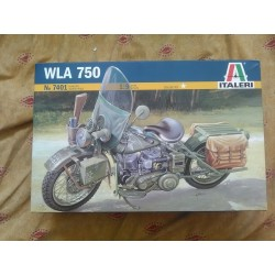 MAQUETTE MOTO -HARLEY DAVIDSON WLA 750 - ITALERI - ECH 1/9 - WWII