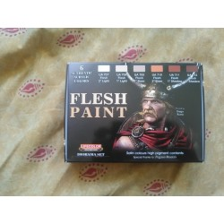 PEINTURE LIFECOLOR - FLESH PAINT - SET BASE VISAGE - FIGURINE