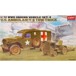 DODGE AMBULANCE WC 54 - ACADEMY - 2 GM - ECH 1/72 -