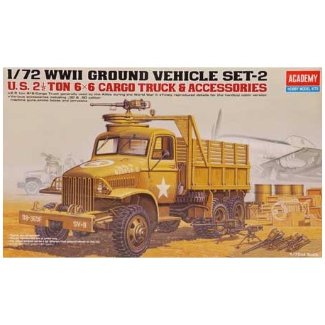 GMC - ACADEMY - ECH 1/72 - 2 GM