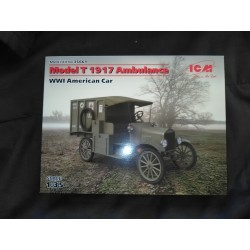 MODEL T 1917 AMBULANCE - WWI - ECH 1/35 - ICM