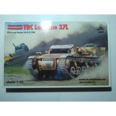 MAQUETTE TRC LORRAINE 37L - ECH 1/35 RPM