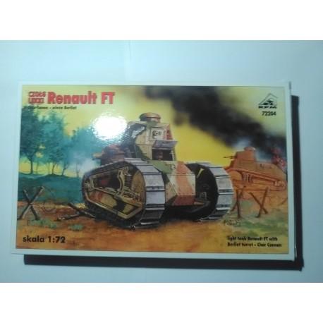 MAQUETTE RENAULT FT - BERLIET TOURELLE - ECH 1/72 - RPM