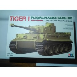 MAQUETTE TIGER I - EARLY 1943 - ECHELLE 1/35 - RMF