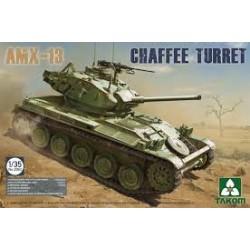 MAQUETTE AMX13/CHAFFEE - ECHELLE 1/35 - TAKOM